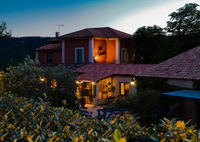 Hotel and villas