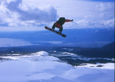 Lukas, snowboard, Chile.